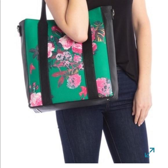 Steve Madden Handbags - NWT Steve Madden Floral Tote Bag